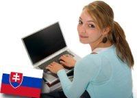 teen using laptop computer